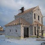 как правильно построить дом из шлакоблоков