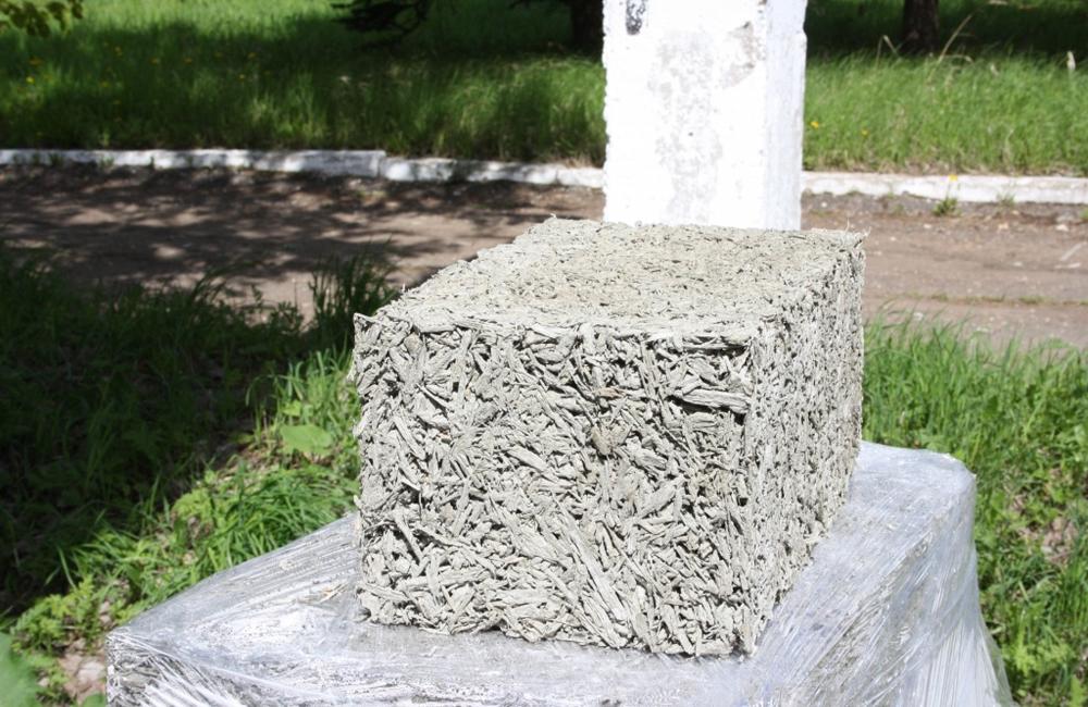 арболитовые блоки как новый строительный материал