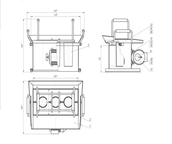 чертеж станка для изготовления