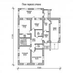 дом №3 из керамзитоблока как выглядит схема первого этажа
