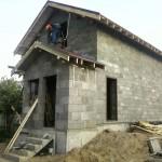 дом построенный из арболита №3
