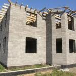 дом построенный из арболита №4