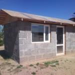 дом построенный из арболита №5