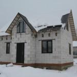 дом из газобетона без отделки