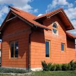 дом построенный из керамических блоков №1