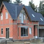 дом построенный из керамических блоков №2