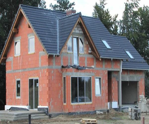 Строительство дома из теплой керамики своими руками 5