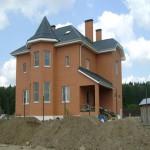 дом построенный из керамических блоков №3