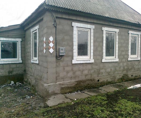 дом из шлакоблока фото