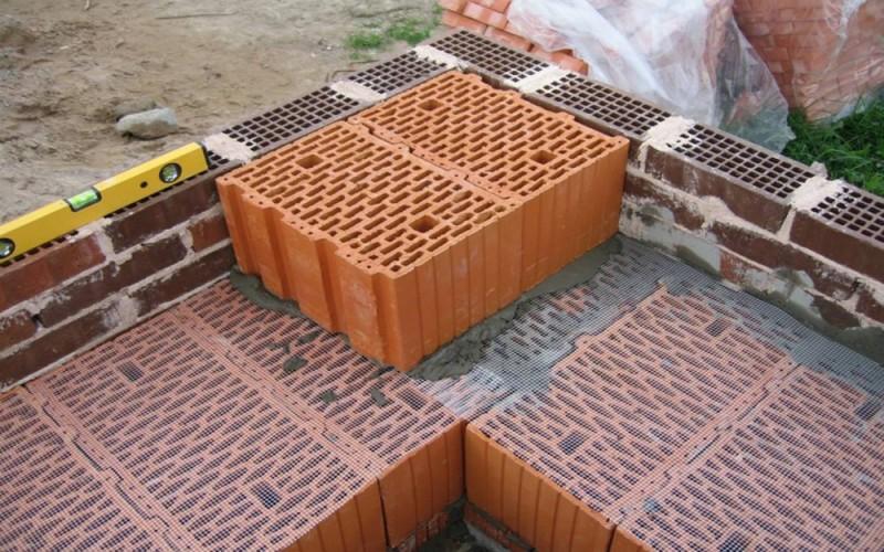 технология строительства дома из керамического блока