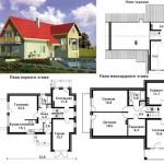 готовый дом из бризолита вмсете с проектом