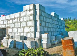 как построить сарай из газосиликатных блоков
