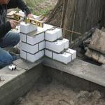 как правильно строить из газобетонных блоков