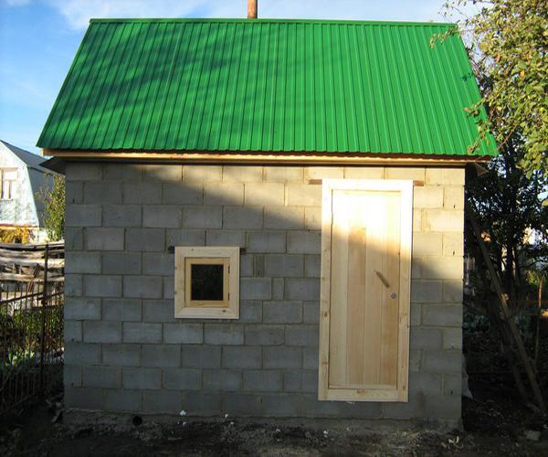 Строительство дома своими руками фото из блоков