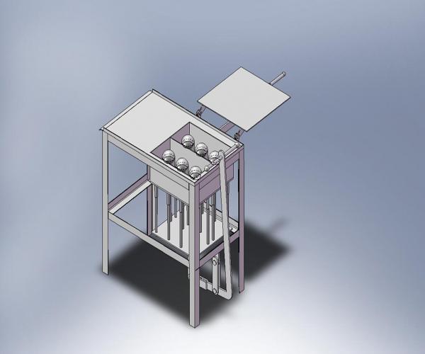 модель станка для керамзитоблоков