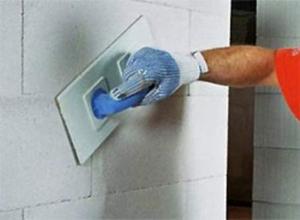 штукатурные работы для влагозащиты стен из газосиликатов