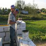 технология возведения построек из газосиликатных блоков
