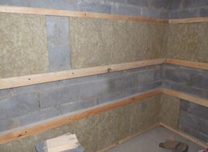 внутренняя отделка стен из шлакоблока вагонкой