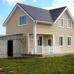 дом №1, построенный из твинблоков
