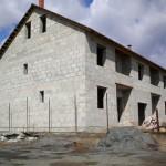 дом №1, построенный из полистиролбетонных блоков