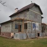 дом №3, построенный из полистиролбетонных блоков