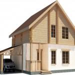 дом №4, построенный из твинблоков