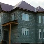 дом №4, построенный из полистиролбетонных блоков
