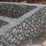 Фундамент дома из бутового камня — оригинальное и выгодное решение