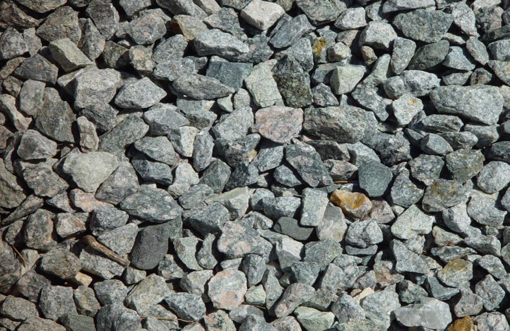 как выглядит гравийный щебень