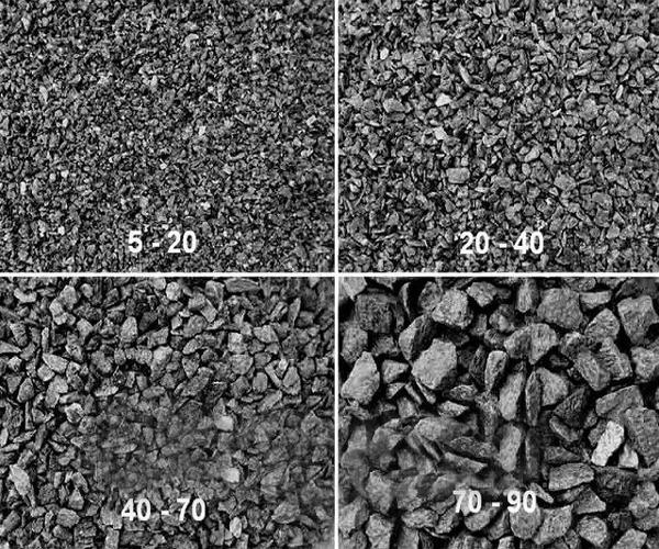какие фракции гравийного щебня различают