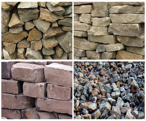 каких видов бывает бутовый камень