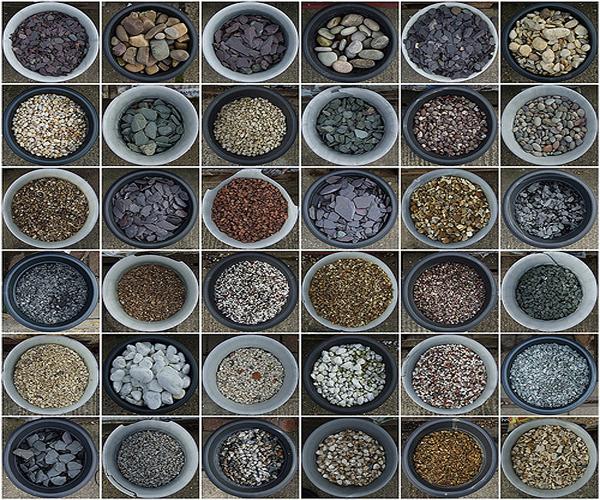 каких видов встречается гравий