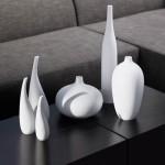 Декоративные вазы из литьевого искусственного мрамора
