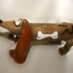 Фигурка, сделанная из шамотной глины №1