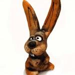 Фигурка, сделанная из шамотной глины №3