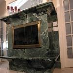 Камин из натурального мрамора №7