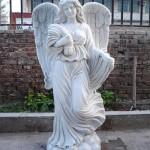 Памятник из белого мрамора №1