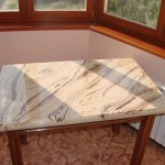 Столешница из литьевого искусственного мрамора №1