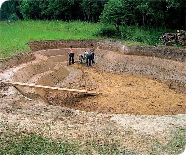 дренаж из строительного песка