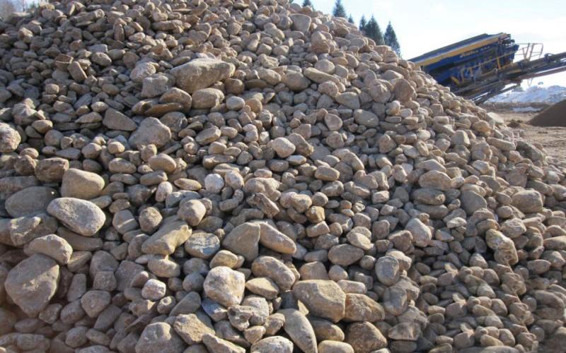 как добывают, сортируют и транспортируют природный гравий