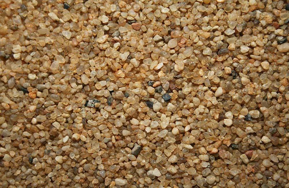 как выглядит кварцевый песок