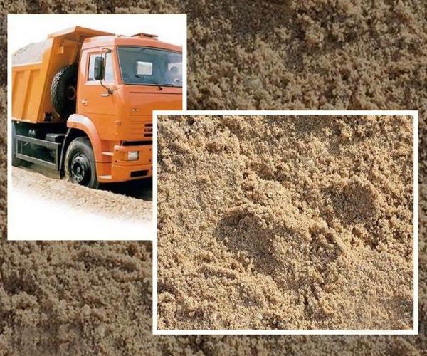 как выглядит намывной карьерный песок