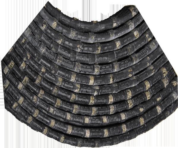 как выглядит стальной трос для резки мрамора