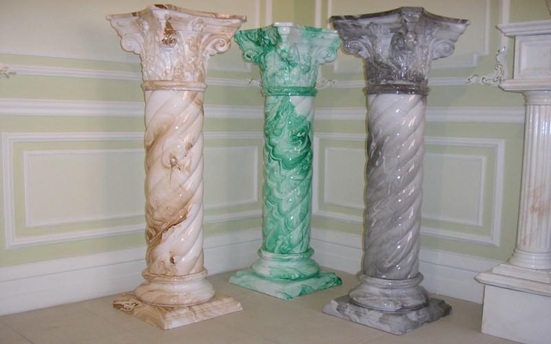 как выглядят изделия из искусственного мрамора