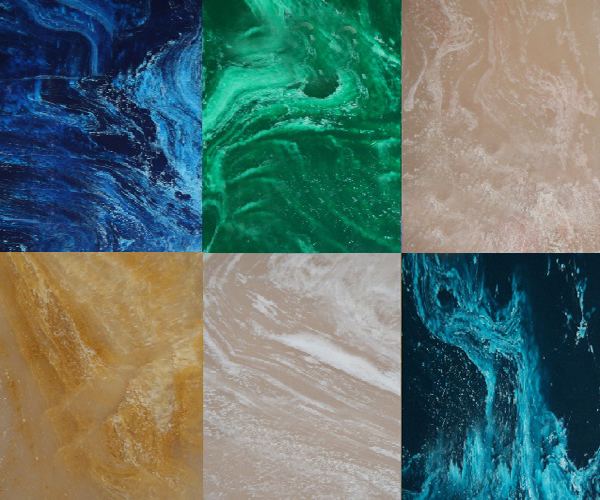 каких цветов бывает искусственный мрамор