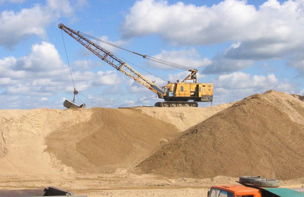 понятие и описание строительного песка