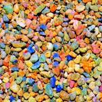 как выглядит разноцветный гравий