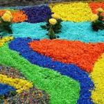 использование цветного щебня 4