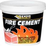Как выглядит огнеупорный цемент