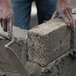 Кладка с использованием глиноземистого цемента